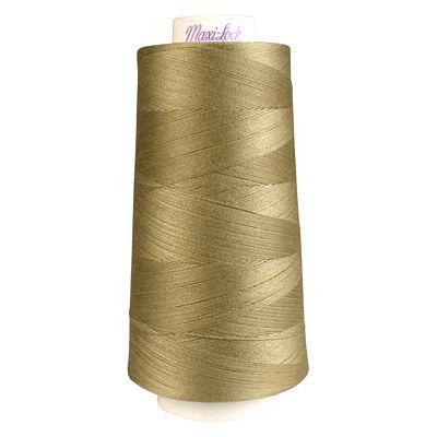 Maxi-Lock Polyester Serger Thread: 3000yds 50wt - Khaki - 51-32365