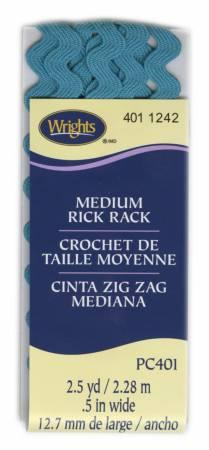 "Medium Rick Rack Mediterranean pk (.5""W x 2.5Yds) - 1174011242"