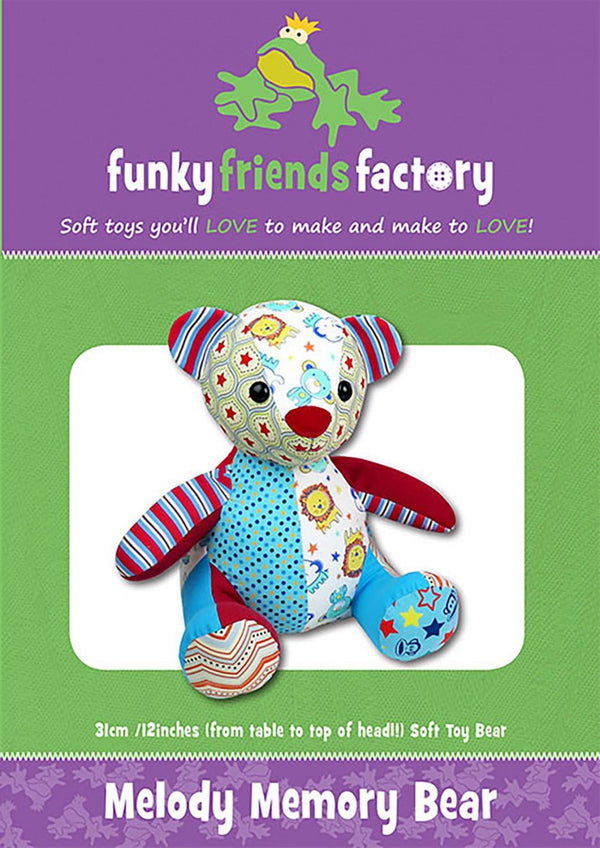 Melody Memory Bear Pattern  FF4844