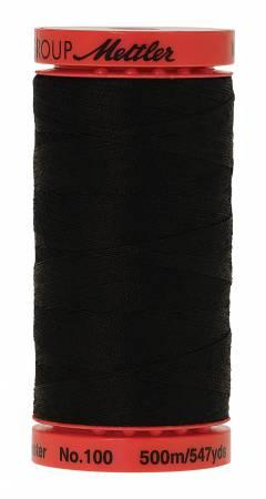 Metrosene Poly Thread 50wt 500m/547yds Black Old Number 1145-0003