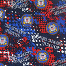 Military Prints-Coast GuardAbstract 1180-CG