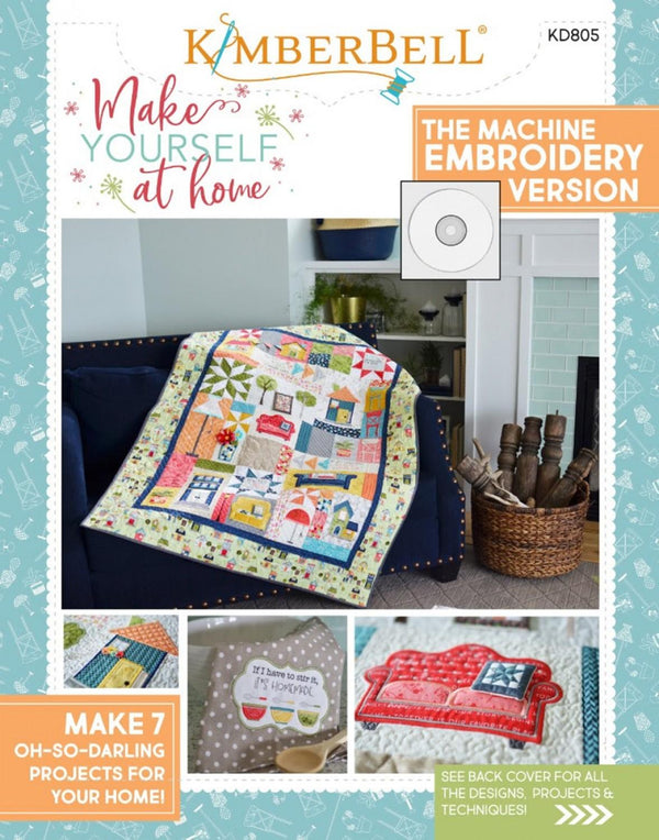 Make Yourself At Home Embroidery CD KD805