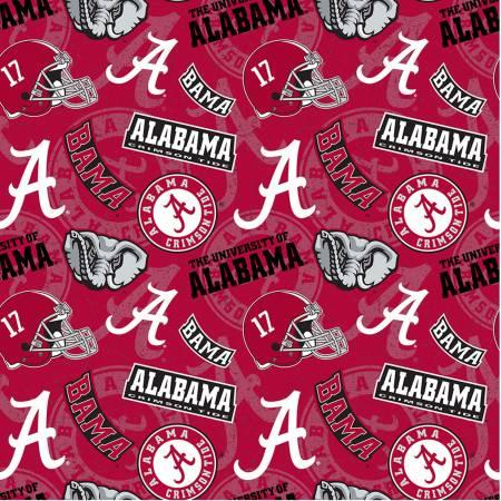 NCAA-Alabama Tone On Tone Cotton AL-1178