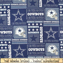 NFL Dallas Cowboys Cotton 6424-D