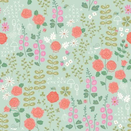 New Dawn-Rose Garden Mint C9851-Mint