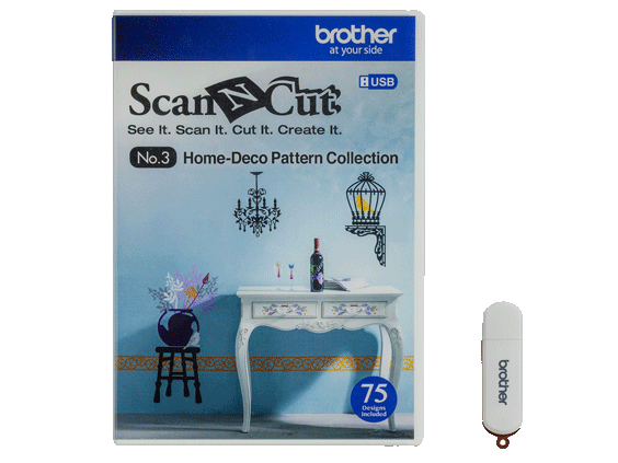 HOME DECO PATTERN COLLECTION USB  CAUSB3