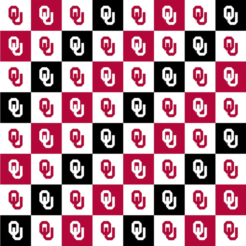 Oklahoma Sooners Squares Digitally Printed OU-1158