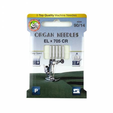 Organ Needles ELx705 Chromium Size 90/14 Eco Pack 3000127