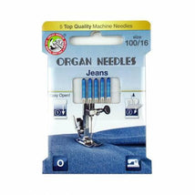 Organ Needles Jeans Size 100 Eco Pack 3000114