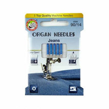 Organ Needles Jeans Size 90/14 Eco Pack 3000113