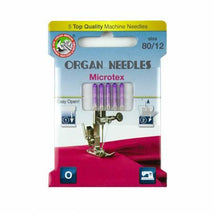 Organ Needles Microtex Size 80/12 Eco Pack 3000120