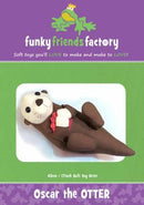Oscar the Otter Pattern - 17in Stuffed Soft Toy - FF2656