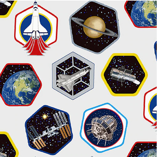 Planetary Missions-Patches Multi 5307-09