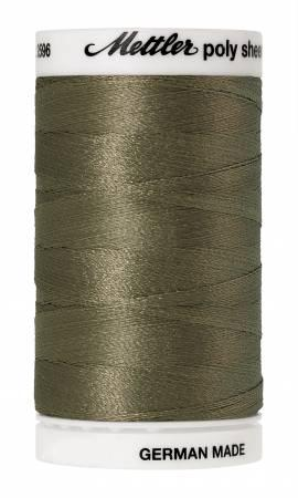 Poly Sheen Embroidery Thread Army Drab - 40wt 875yds