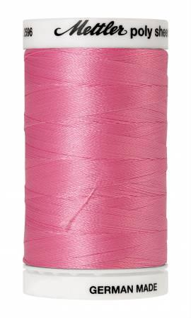 Poly Sheen Embroidery Thread Azalea Pink - 40wt 875yds