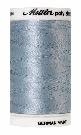 Poly Sheen Embroidery Thread Azure Blue - 40wt 875yds