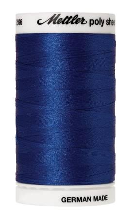 Poly Sheen Embroidery Thread Blue - 40wt 875yds