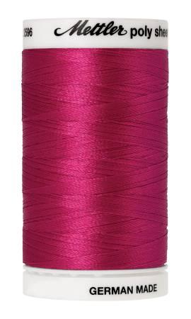 Poly Sheen Embroidery Thread Bright Ruby - 40wt 875yds