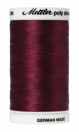 Poly Sheen Embroidery Thread Burgundy - 40wt 875yds