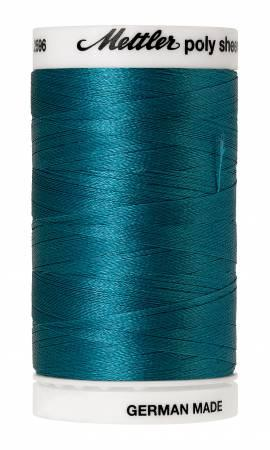 Poly Sheen Embroidery Thread Caribbean - 40wt 875yds