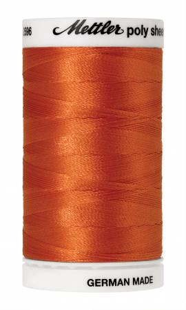Poly Sheen Embroidery Thread Clay - 40wt 875yds