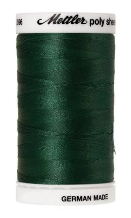 Poly Sheen Embroidery Thread Evergreen - 40wt 875yds