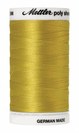 Poly Sheen Embroidery Thread Light Brass - 40wt 875yds