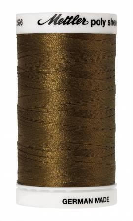 Poly Sheen Embroidery Thread Moss - 40wt 875yds