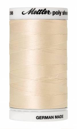 Poly Sheen Embroidery Thread Muslin - 40wt 875yds