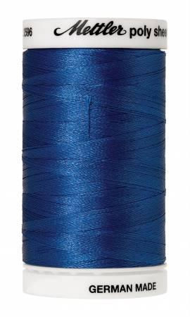 Poly Sheen Embroidery Thread Nordic Blue - 40wt 875yds