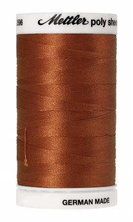 Poly Sheen Embroidery Thread Nutmeg - 40wt 875yds
