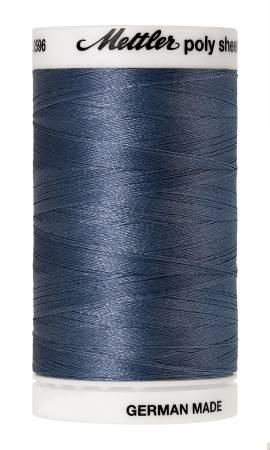 Poly Sheen Embroidery Thread Ocean Blue - 40wt  875yds
