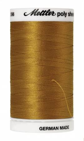 Poly Sheen Embroidery Thread Ochre - 40wt 875yds