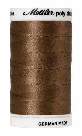Poly Sheen Embroidery Thread Pecan - 40wt 875yds