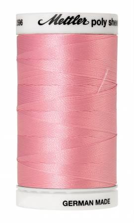 Poly Sheen Embroidery Thread Petal Pink - 40wt 875yds
