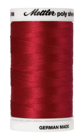 Poly Sheen Embroidery Thread Poinsettia - 40wt 875yds