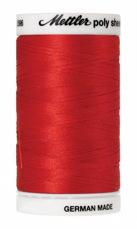 Poly Sheen Embroidery Thread Poppy - 40wt 875yds