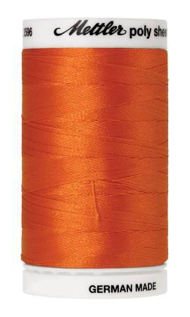 Poly Sheen Embroidery Thread Pumpkin - 40wt 875yds