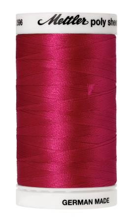 Poly Sheen Embroidery Thread Rasberry - 40wt 875yds