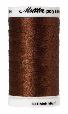 Poly Sheen Embroidery Thread Redwood - 40wt 875yds