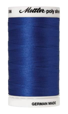 Poly Sheen Embroidery Thread Royal Blue - 40wt 875yds
