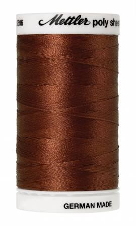 Poly Sheen Embroidery Thread  Rust - 40wt 875yds