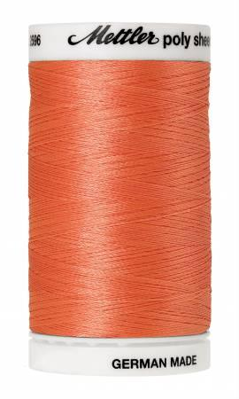 Poly Sheen Embroidery Thread Salmon - 40wt 875yds