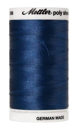 Poly Sheen Embroidery Thread Slate Blue - 40wt 875yds