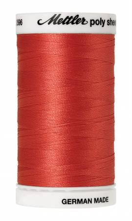 Poly Sheen Embroidery Thread Spanish Tile - 40wt 875yds