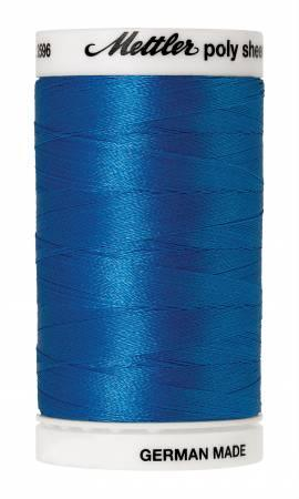 Poly Sheen Embroidery Thread Tropical Blue - 40wt 875yds