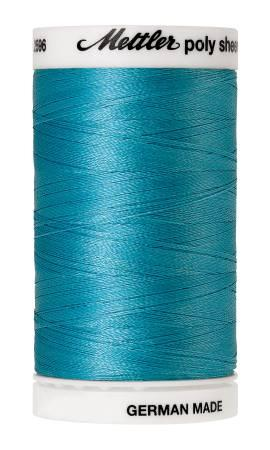 Poly Sheen Embroidery Thread Turquoise - 40wt 875yds