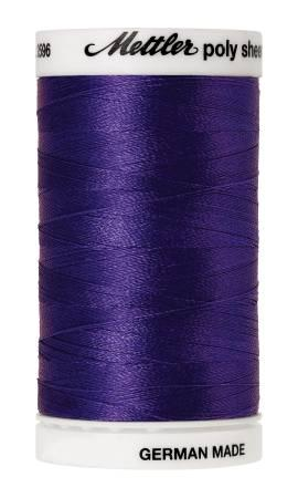 Poly Sheen Embroidery Thread Venetian Blue - 40wt 875yds