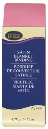 Polyester Blanket Binding 4-3/4yd Candy Pink 117794216