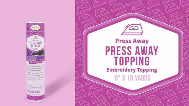 Press Away Embroidery Stabilizer - BLP-FILM